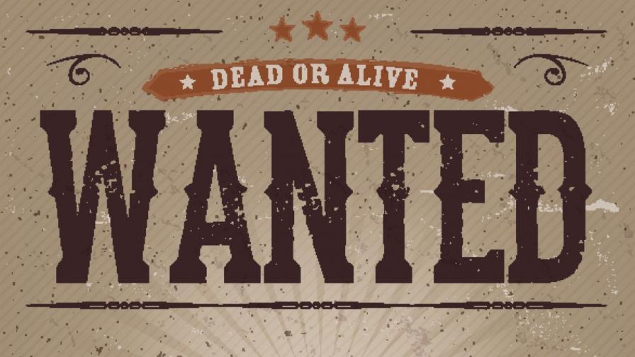 Издирва се, жив или мъртъв