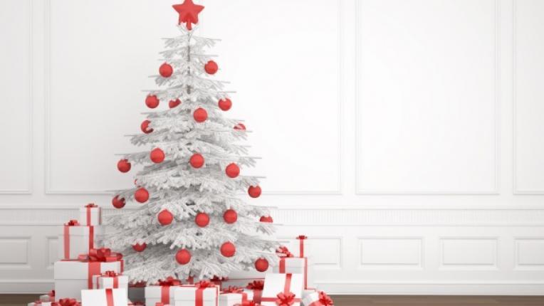 Елха коледно дърво украса Коледа