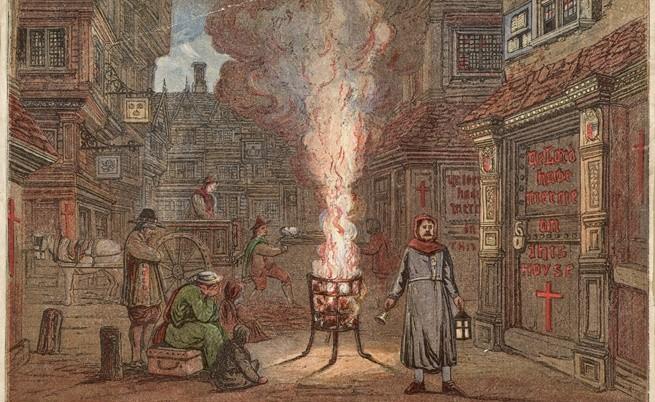 Как се предпазвали англичаните от зомбита в Средновековието