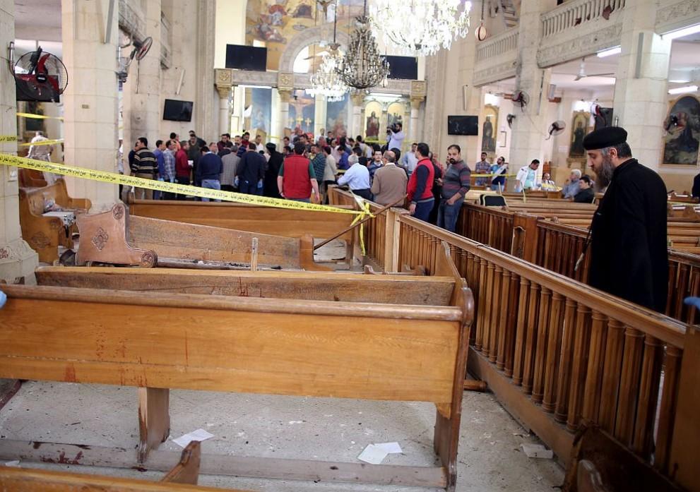 атентат църква Египет