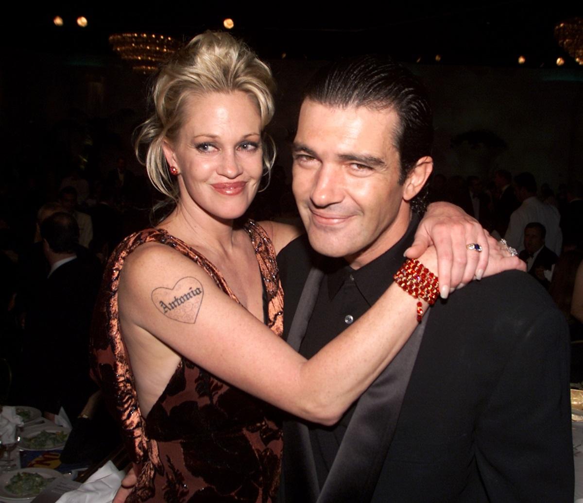 Мелани Грифит и Антонио Бандерас (2000 г.)