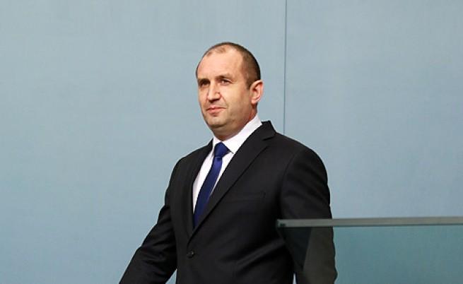 Президентът Румен Радев с обръщение към нацията