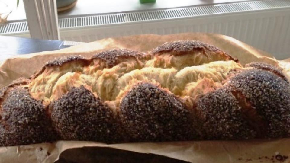 Великденските рецепти на Катето Евро: празничен козунак без месене