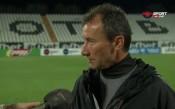 Стамен Белчев: Най-слабият ни мач като игра