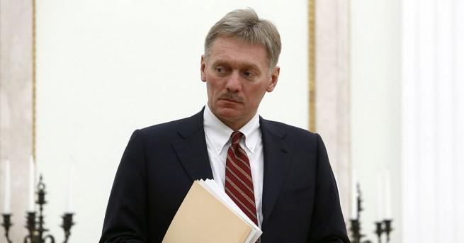 Кремъл не е получавал от никое ведомство данни за каквито