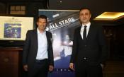Пресконференцията на Димитър Бербатов и Луиш Фиго<strong> източник: LAP.bg</strong>