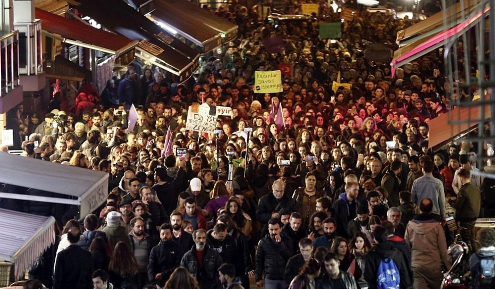 протести Турция