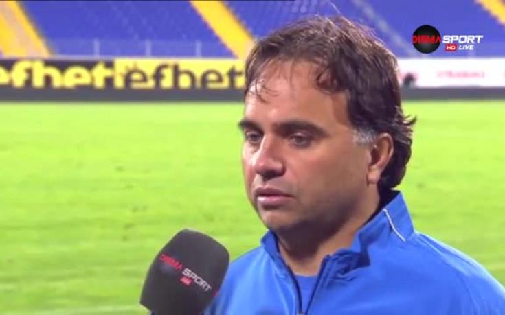 Ники Митов: Не съм доволен, днешния мач ще е за урок
