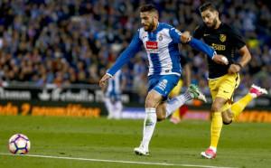 Атлетико Мадрид мина и през Еспаньол