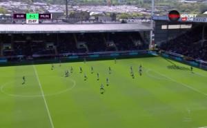 Юнайтед поведе на Бърнли след гол на Антони Марсиал