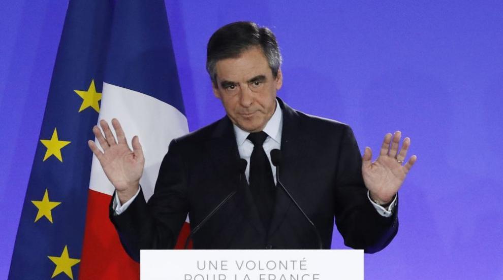 Съдят бившия френски премиер Франсоа Фийон за фиктивни назначения на...