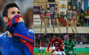 Футбол срещу гимнастика за събитие на седмицата