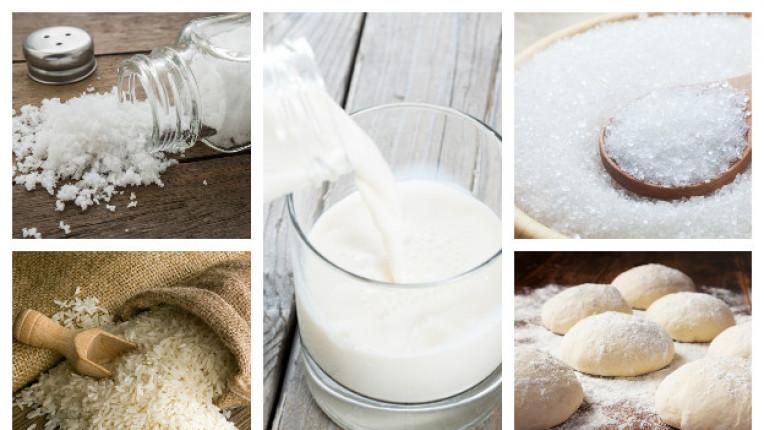 5 бели храни, които са вредни за нашето здраве