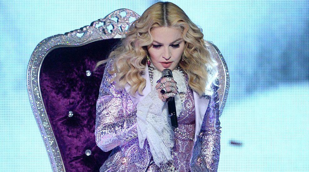Мадона сияе в компанията на шестте си деца (СНИМКА)