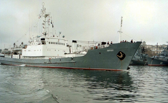 Руски военен кораб потъна в Черно море край Турция