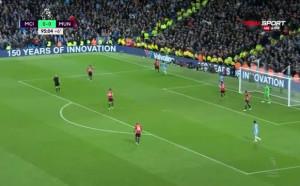 Манчестър Сити - Манчестър Юнайтед 0:0, Висша лига, 26-и кръг