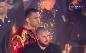 Емоционалната поява на Кобрата за мача с Джонсън