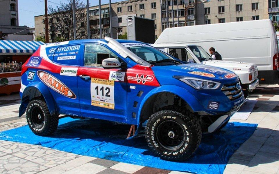 Успешен старт за Hyundai Santa Fe T1 на Баха 500