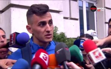 Костадинов: Нямахме право да влизаме така във втори  мач