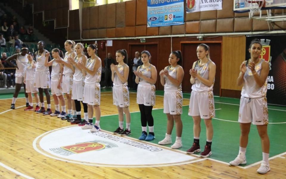 Баскетболистките на Хасково със златен дубъл