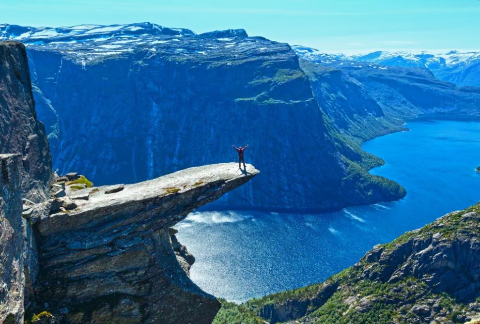 Тролтунга, Норвегия