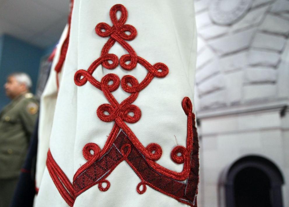гвардейската униформа