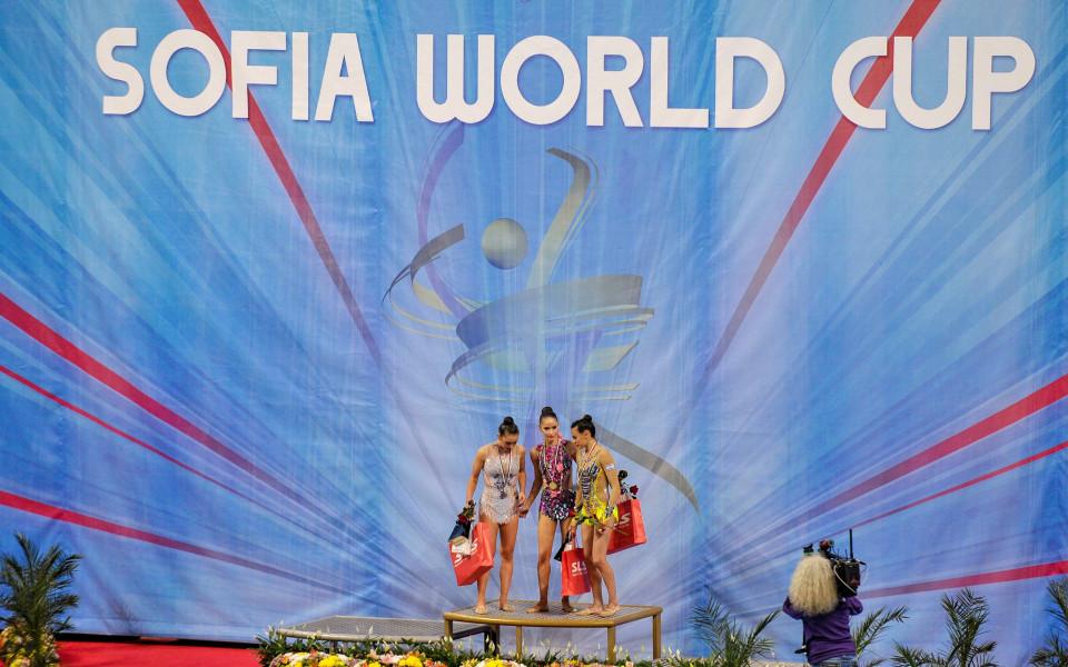 Елитът в художествената гимнастика у нас за Световно преди Световното