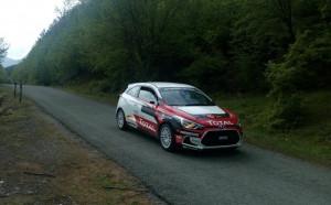 Hyundai Racing Trophy с активни тренировки преди рали България