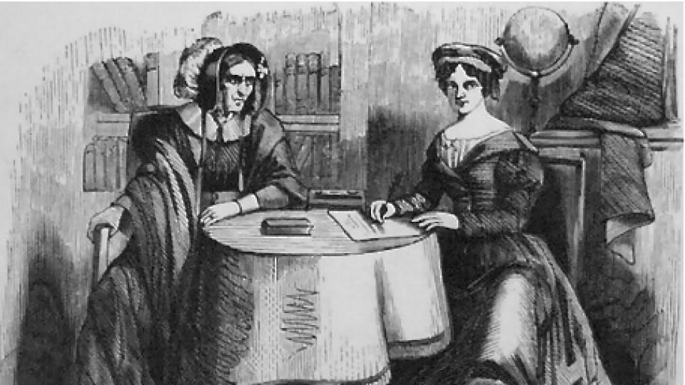 Гадателката Мадам Ленорман, която влиза в учебниците по история