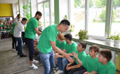 Домусчиев похвали звездите за социалната ангажираност
