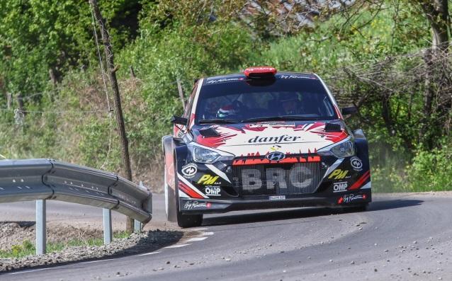 Джандоменико Басо с Hyundai i20 R5 източник: Hyundai Racing