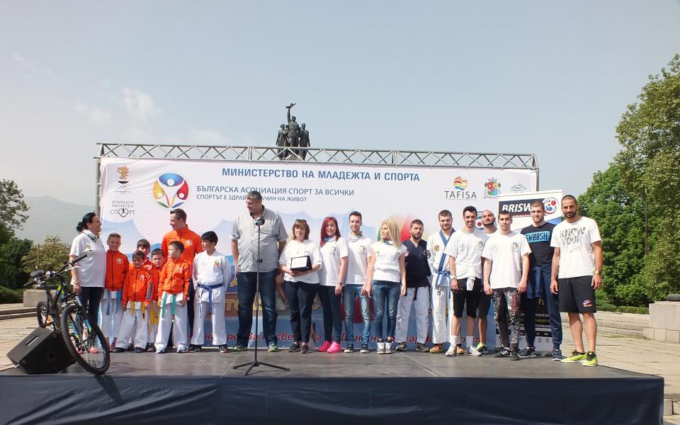 Любо Ганев откри Световния ден на предизвикателството в София