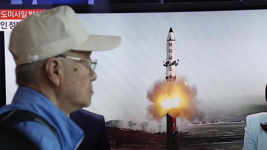 Пхенян изстреля ракета, Путин разтревожен