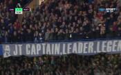 Страхотно: Сълзи в очите на Тери след гола му срещу Уотфорд