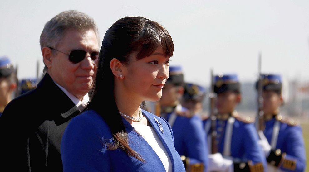 Японска принцеса се омъжва за човек от...