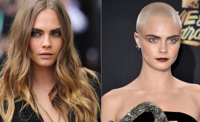 Звездите, които отрязаха косите си