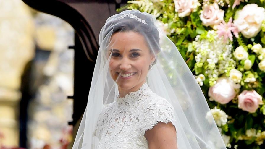 Пипа Мидълтън в сватбения ден