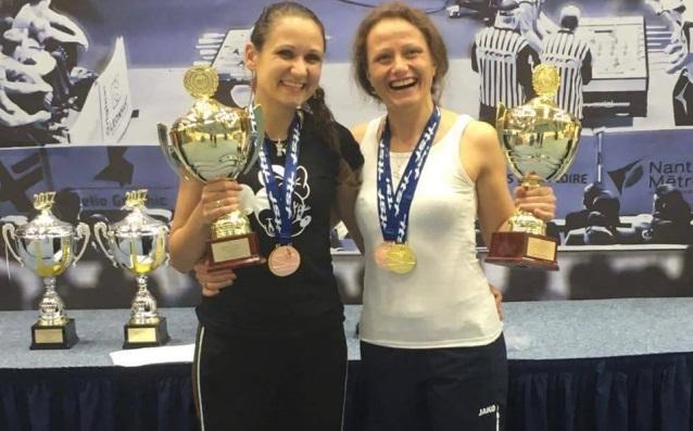 Шампионките Атанасова и Герова източник: Jagoars