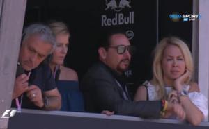 Моуриньо се наслаждава на Ф1 в Монте Карло