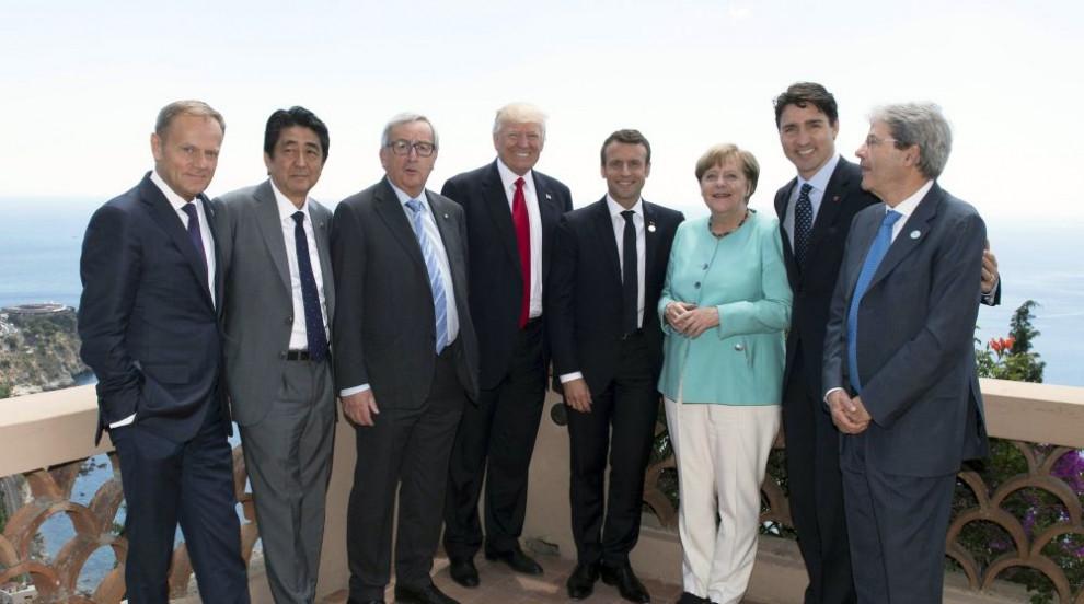 Лидерите на Г-7  не се разбраха със САЩ за климатичните проблеми