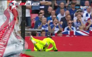 Арсенал - Челси 1:0 /първо полувреме/