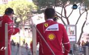Шампанско за Ферари след Гран при на Монте Карло