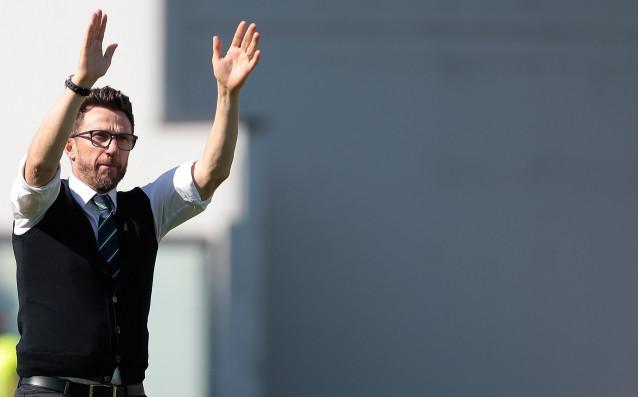 Старши треньорът на Рома Еузебио Ди Франческо заяви, че му