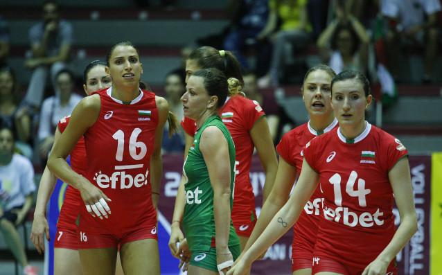 Волейболистките на България и Румъния източник: LAP.bg
