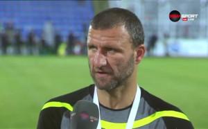 Костадин Ангелов: Футболистите си причиниха едно изтезание