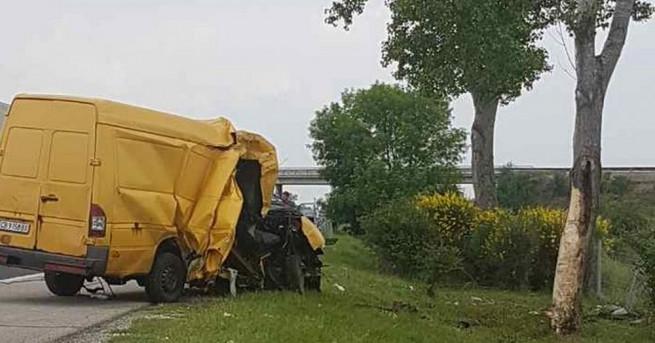 Снимка: Оцелели при катастрофата на АМ