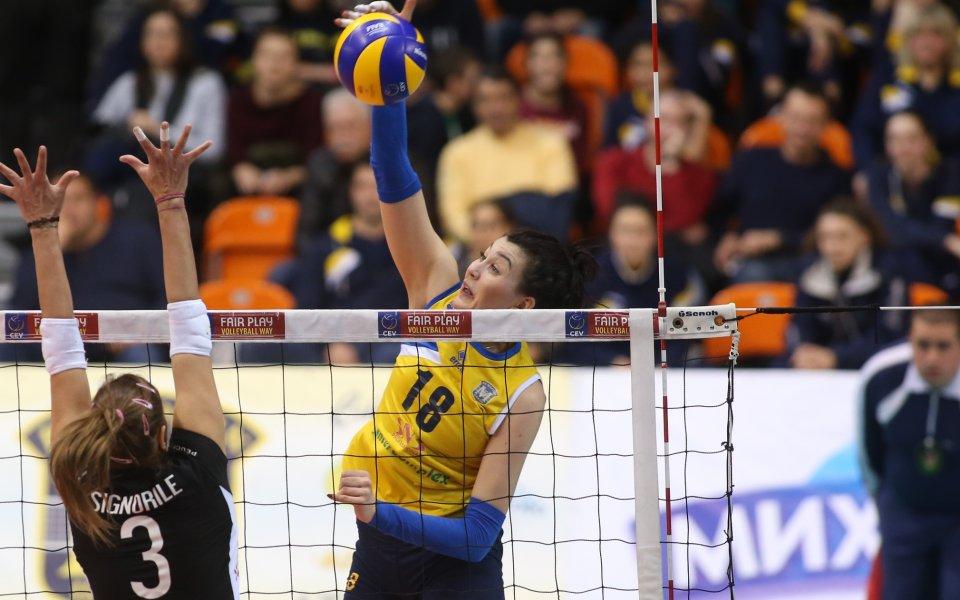 Волейболистка на Марица подписа в Италия