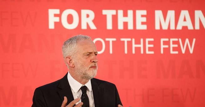 Британският опозиционен лидер Джереми Корбин ще се заеме с промяна
