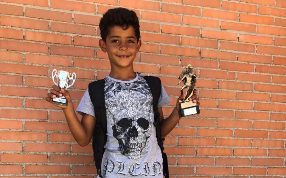 Роналдо младши по стъпките на баща си: Медал след медал