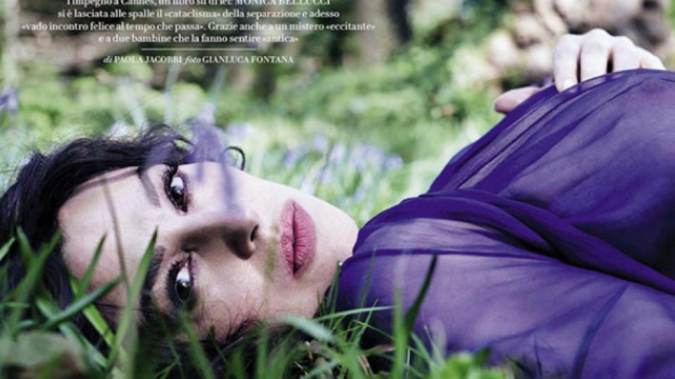 """Това е ТЯ - божествената Моника Белучи специално за Vanity Fair: """"Вече не съм момиче!"""""""